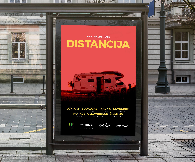 Distancija-Bus-Poster